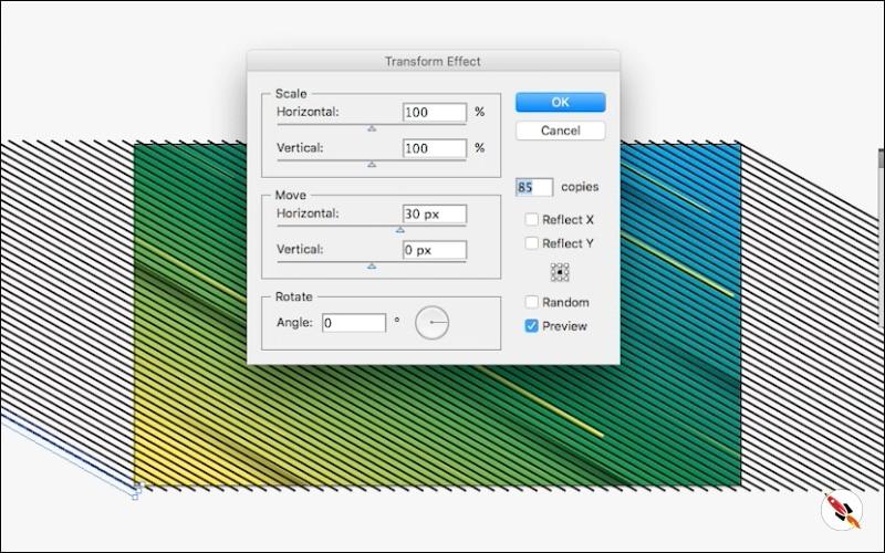transform effect | Illustrator tutorial | Deeptuts
