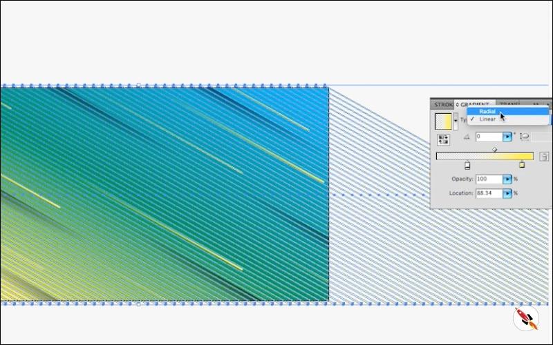fill gradient | Illustrator tutorial | Deeptuts