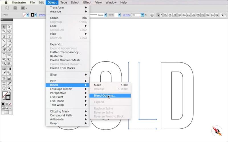 lined text illustrator tutorial | DeepTuts