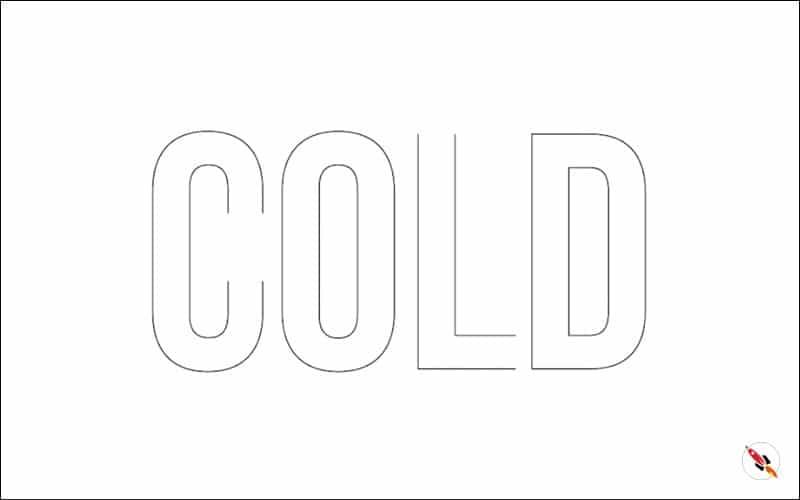 lined text illustrator tutorial