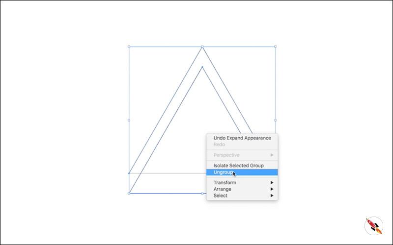 Penrose triangle illustrator tutorial DeepTuts