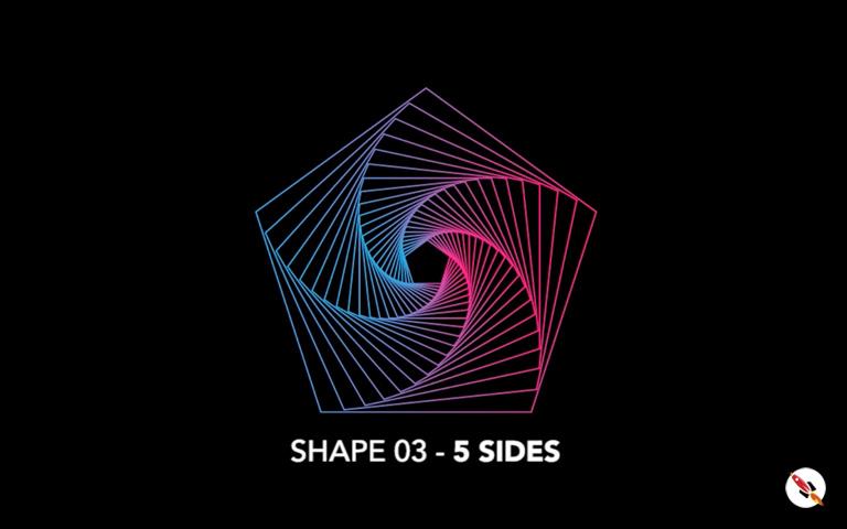 5 Sided Polygon shape