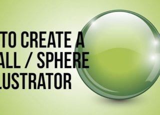 Ball Sphere In Adobe Illustrator Wp