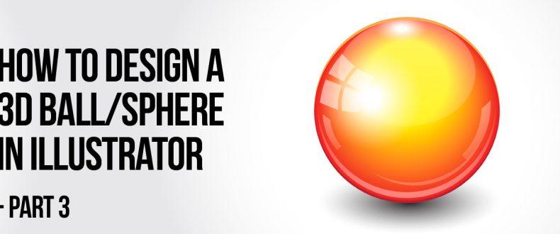 Illustrator 3d Ball Design Wp